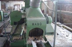 Станок четырехпильный развальный модель Mabo